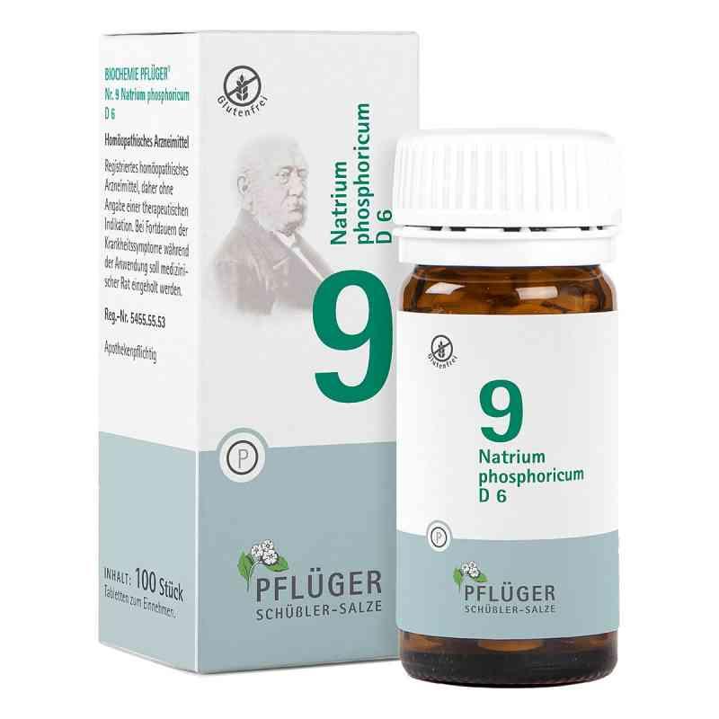Biochemie Pflueger 9 Natrium phosph.D 6 Tabl.  zamów na apo-discounter.pl
