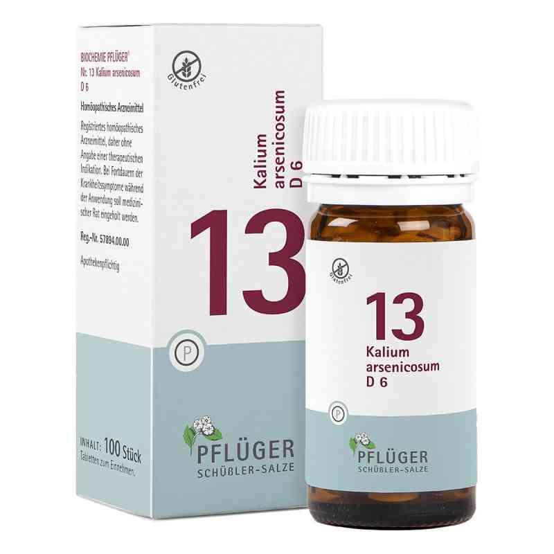 Biochemie Pflueger 13 Kalium arsenic.D 6 Tabl. zamów na apo-discounter.pl