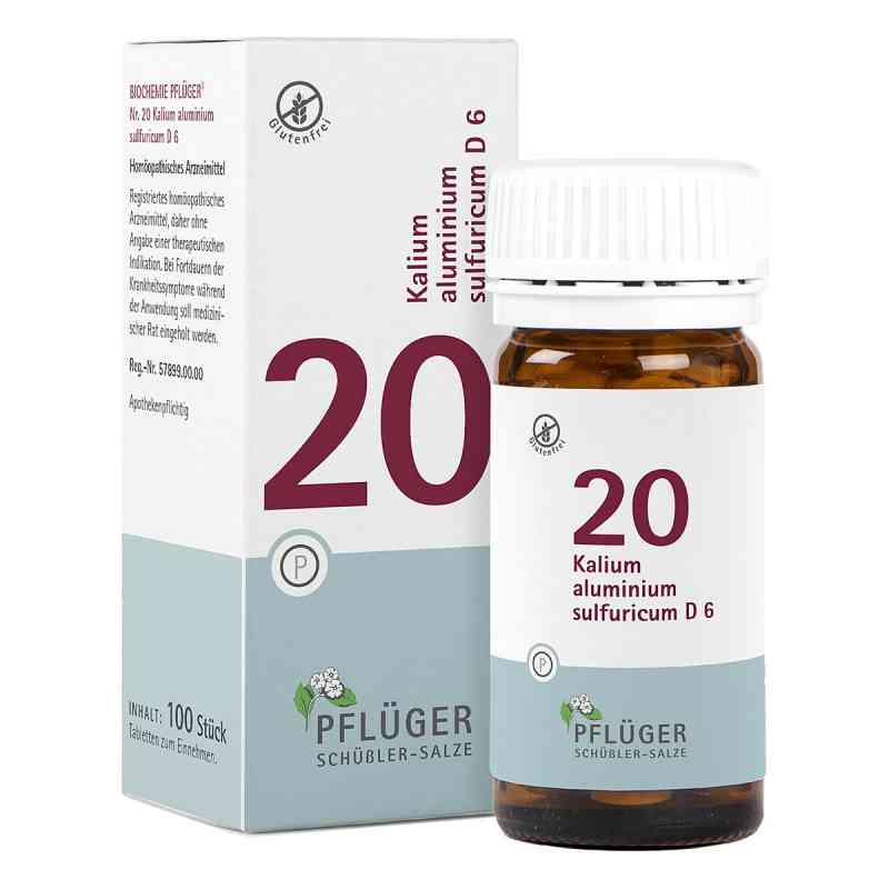 Biochemie Pflueger 20 Kalium alum.sulf.D 6 Tabl. zamów na apo-discounter.pl