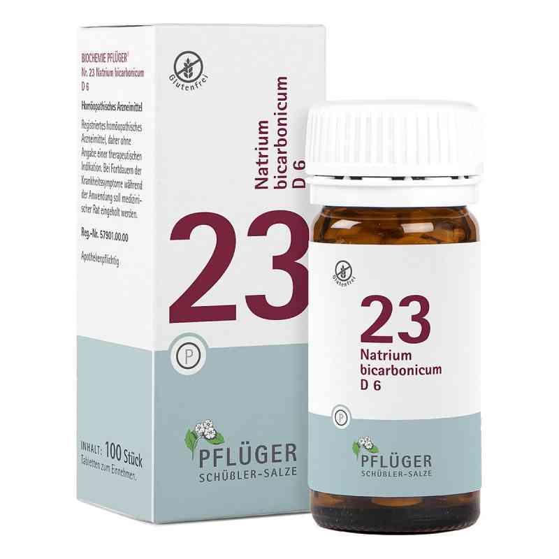 Biochemie Pflueger 23 Natrium bicarbon.D 6 Tabl. zamów na apo-discounter.pl