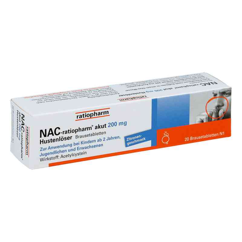 Nac ratiopharm akut 200 mg Hustenloeser Br.tabl. zamów na apo-discounter.pl