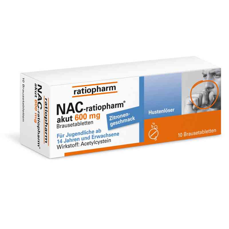 Nac ratiopharm akut 600 mg Hustenloeser Br.tabl. zamów na apo-discounter.pl