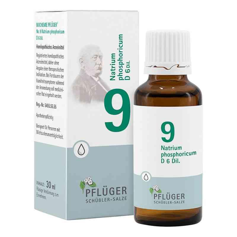 Biochemie Pflueger 9 Natrium phosph.D 6 Tropfen  zamów na apo-discounter.pl