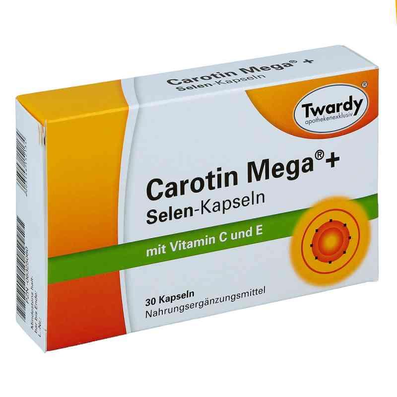 Carotin Mega + Selen Kapsułki  zamów na apo-discounter.pl