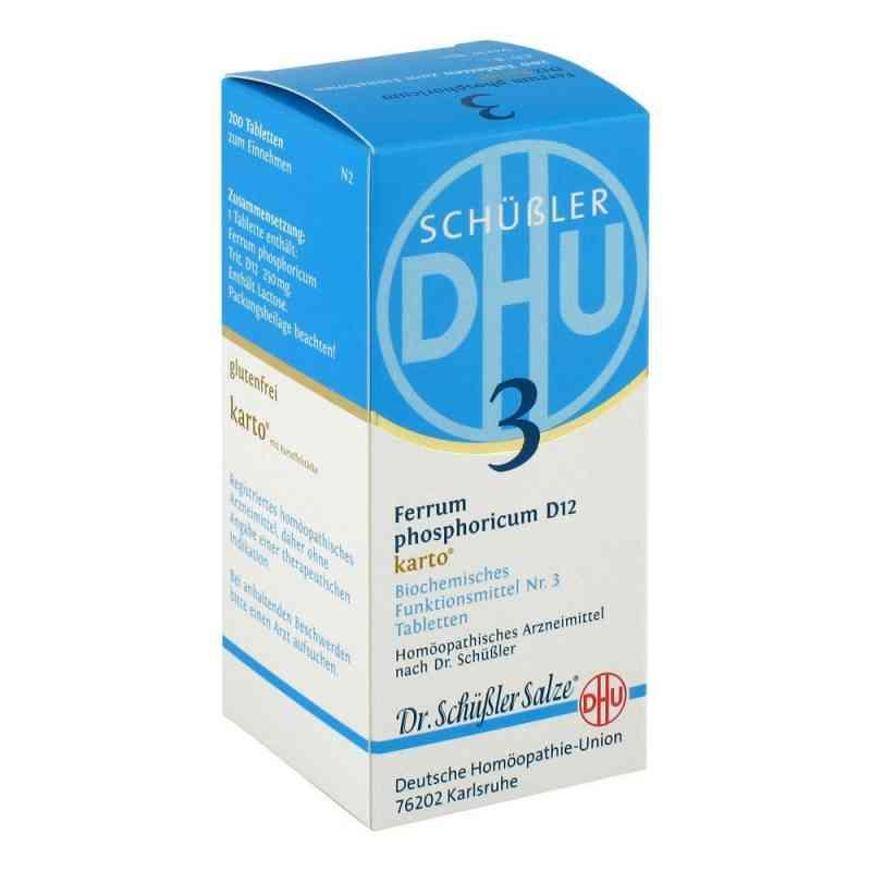 Biochemie Dhu Nr 3 Fosforan żelaza D12 Karto tabletki zamów na apo-discounter.pl