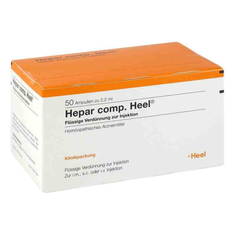 Heel Hepar compositum ampułki  zamów na apo-discounter.pl