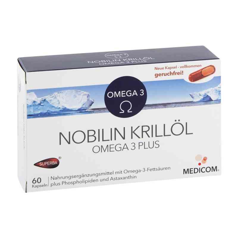 Nobilin Krilloel Omega 3 Plus kapsułki  zamów na apo-discounter.pl