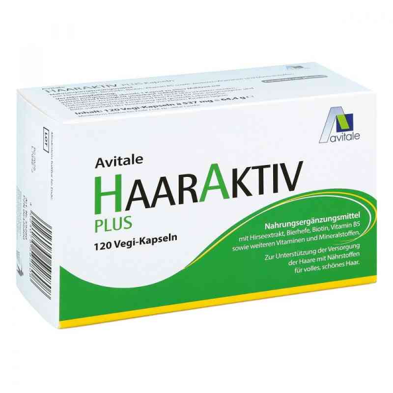 Avitale Haaraktiv Plus kapsułki wzmacniające włosy zamów na apo-discounter.pl