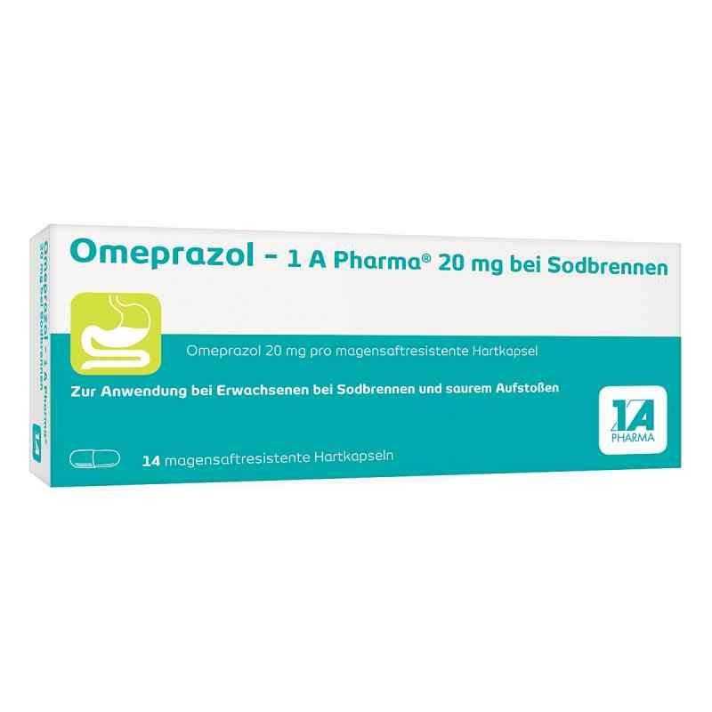Omeprazol 20 mg 1a Pharma b.Sodbr. Kps.ms.r.  zamów na apo-discounter.pl