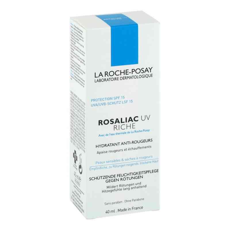 La Roche Posay Rosaliac UV riche krem o bogatej konsystencji zamów na apo-discounter.pl