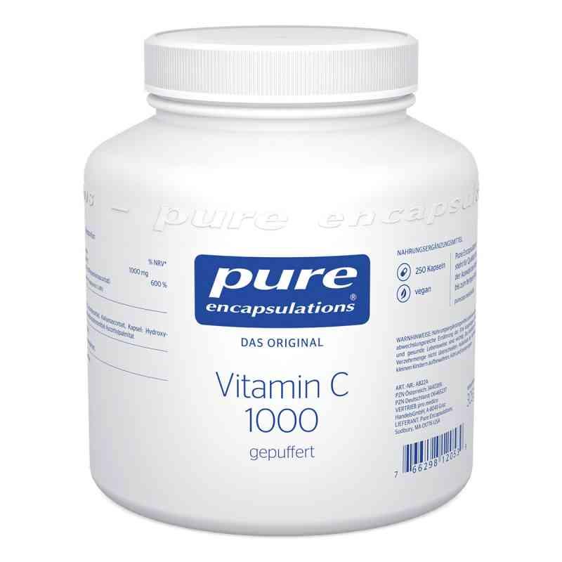 Pure Encapsulations Vitamin C 1000 gepuff. kapsułki  zamów na apo-discounter.pl