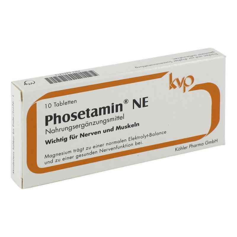 Phosetamin Ne tabletki 10 szt. od Köhler Pharma GmbH PZN 06465415