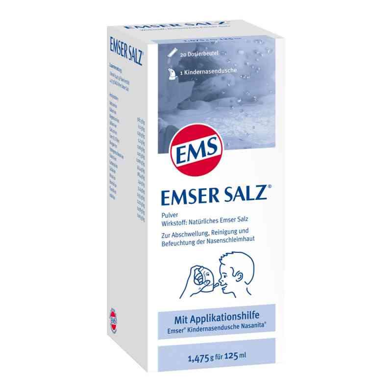 Emser sól emska dla dzieci w saszetkach 1 op. od Sidroga Gesellschaft für Gesundh PZN 06478010