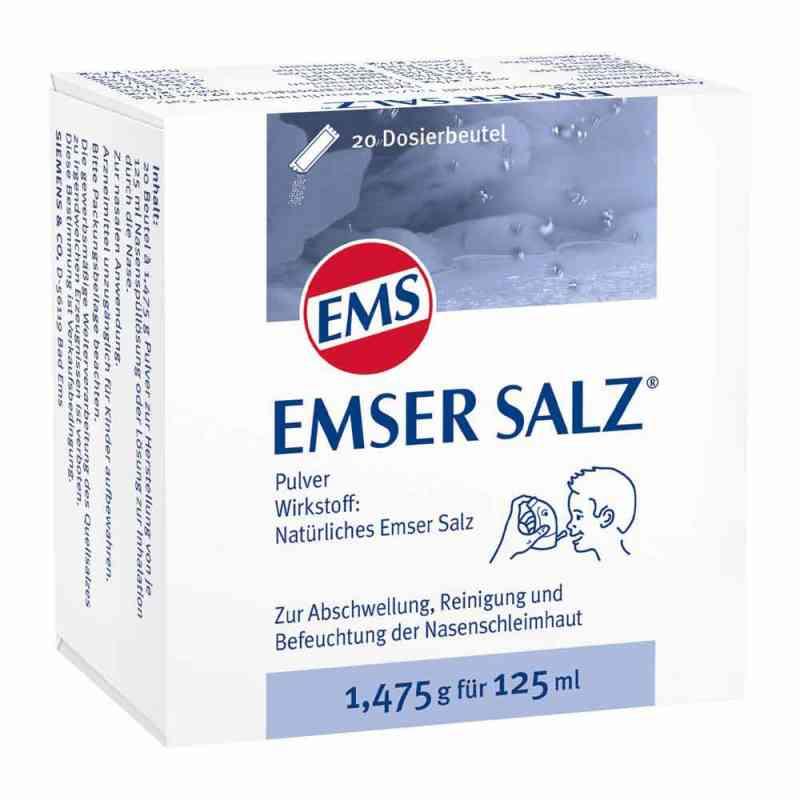 Sól emska 1,475g Proszek zamów na apo-discounter.pl