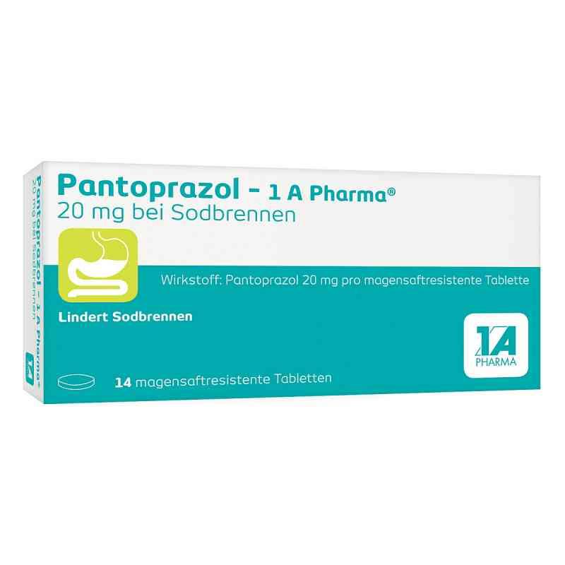 Pantoprazol 1a Pharma 20 mg b.Sodbr.mag.s.r.T.  zamów na apo-discounter.pl