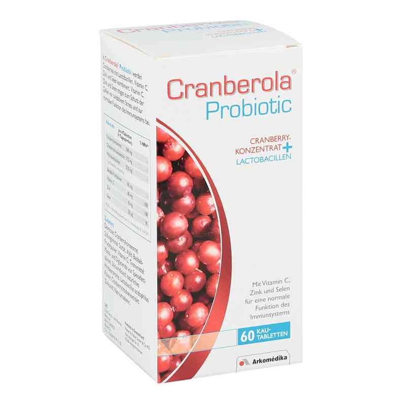 Cranberola Probiotic Kautabl.  zamów na apo-discounter.pl