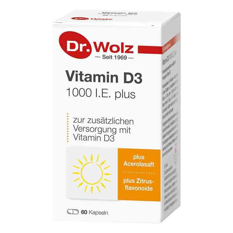 Dr. Wolz Witamina D3 1000 I.E.plus kapsułki  zamów na apo-discounter.pl