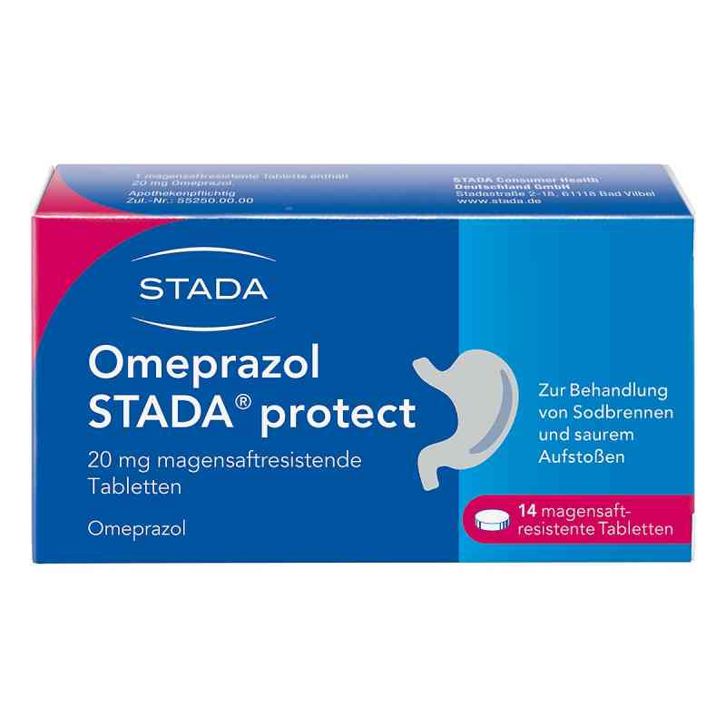 Omeprazol Stada protect 20 mg mag.s.r.Tabl.  zamów na apo-discounter.pl