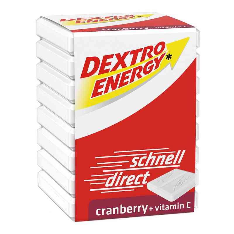 Dextro Energy Żurawina, tabletki z witaminą C  zamów na apo-discounter.pl