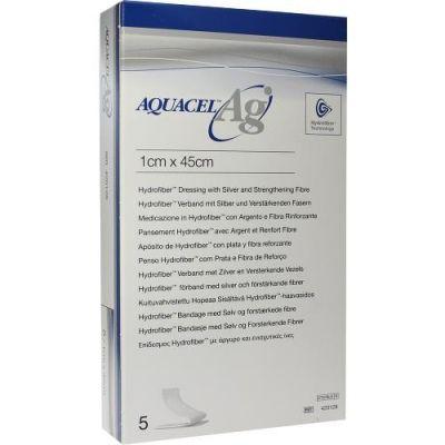 Aquacel Ag 1x45cm Tamponade mit Verstärkungsfasern  zamów na apo-discounter.pl