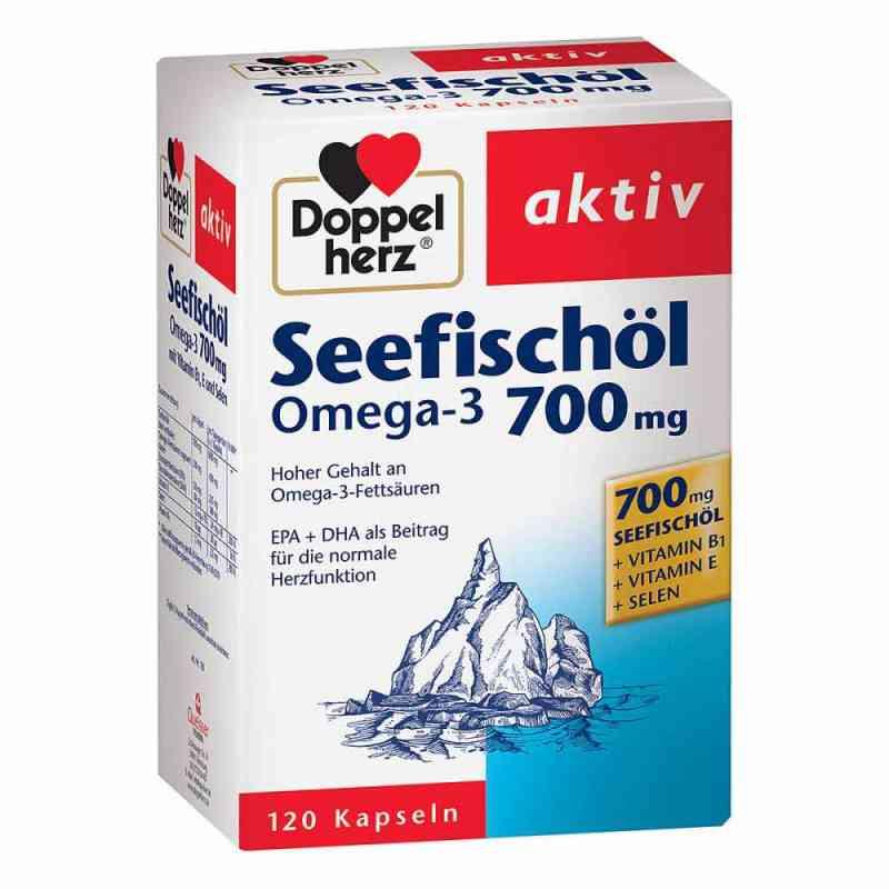 Doppelherz Omega 3 700mg+wit.B1+selen kapsułki  zamów na apo-discounter.pl