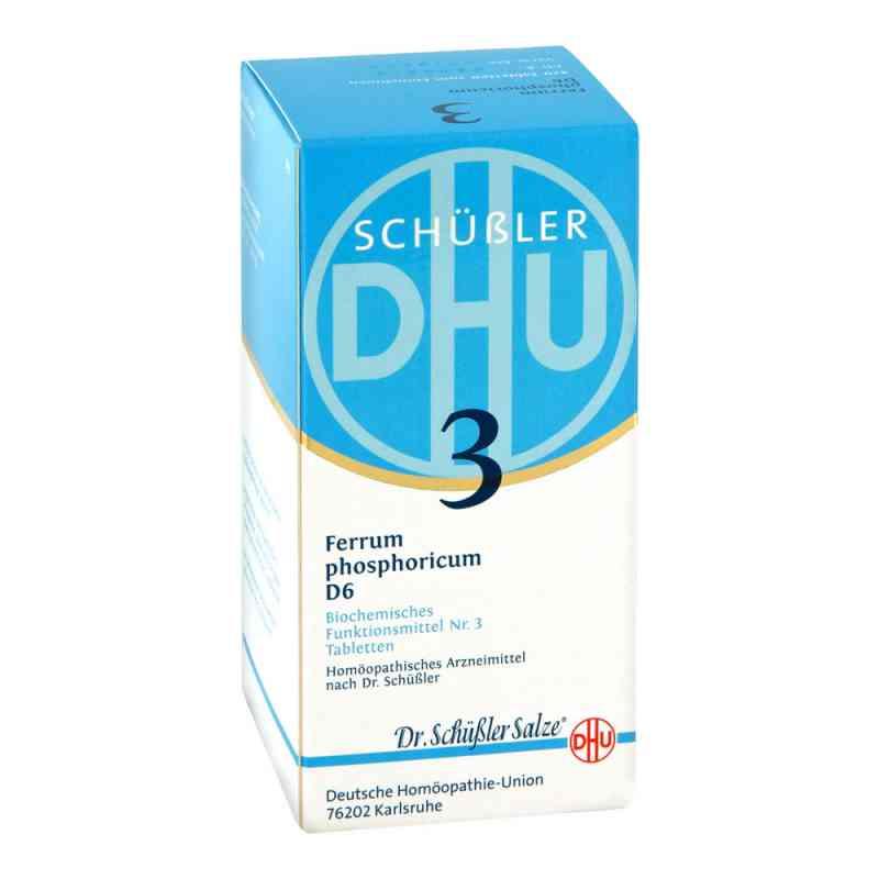 Biochemie DHU Nr 3 fosforan żelaza tabletki D6 tabletki  zamów na apo-discounter.pl