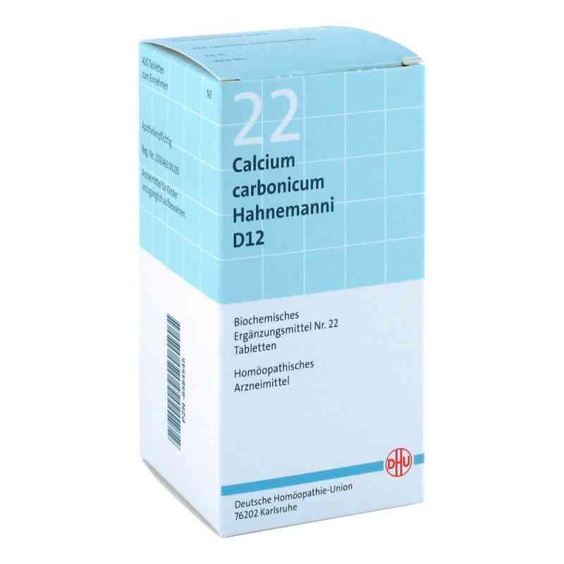 Biochemie Dhu 22 Calcium carbonicum D 12 Tabl.  zamów na apo-discounter.pl
