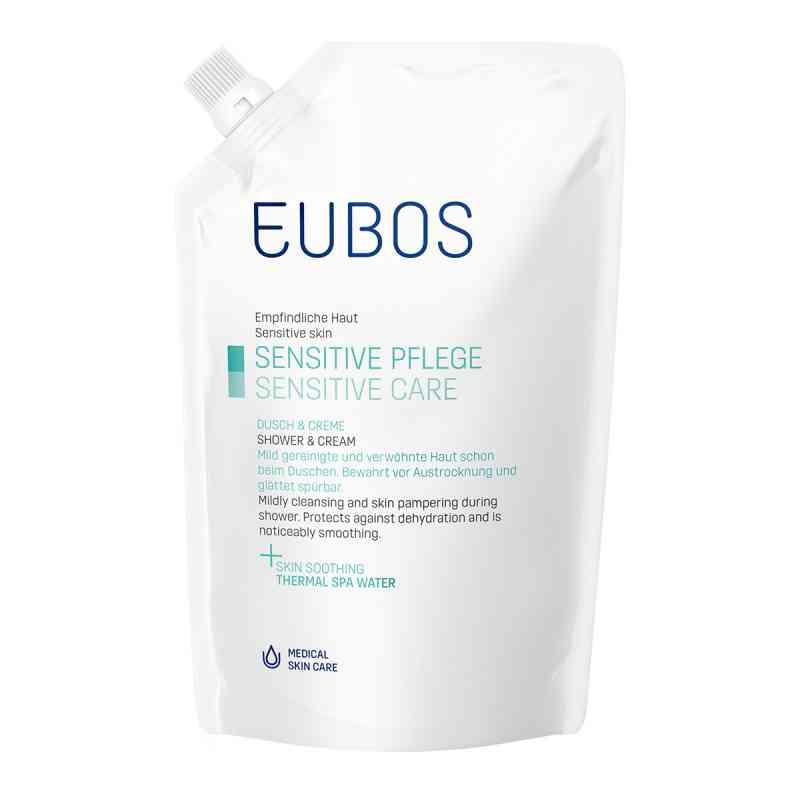 Eubos Sensitive żel pod prysznic saszetka uzupełniająca  zamów na apo-discounter.pl