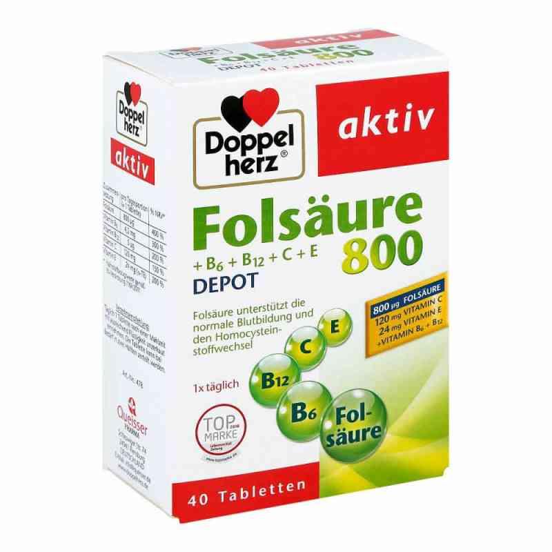 Doppelherz kwas foliowy 800 + witam. B tabletki zamów na apo-discounter.pl