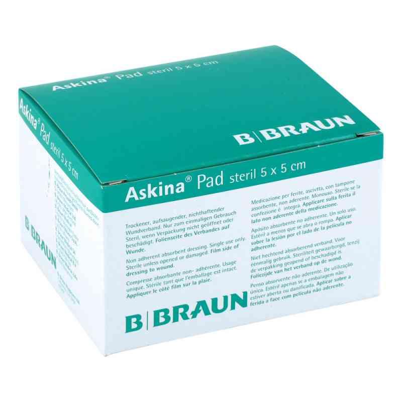 Askina Pad Wundauflage 5x5cm nichthaftend  zamów na apo-discounter.pl