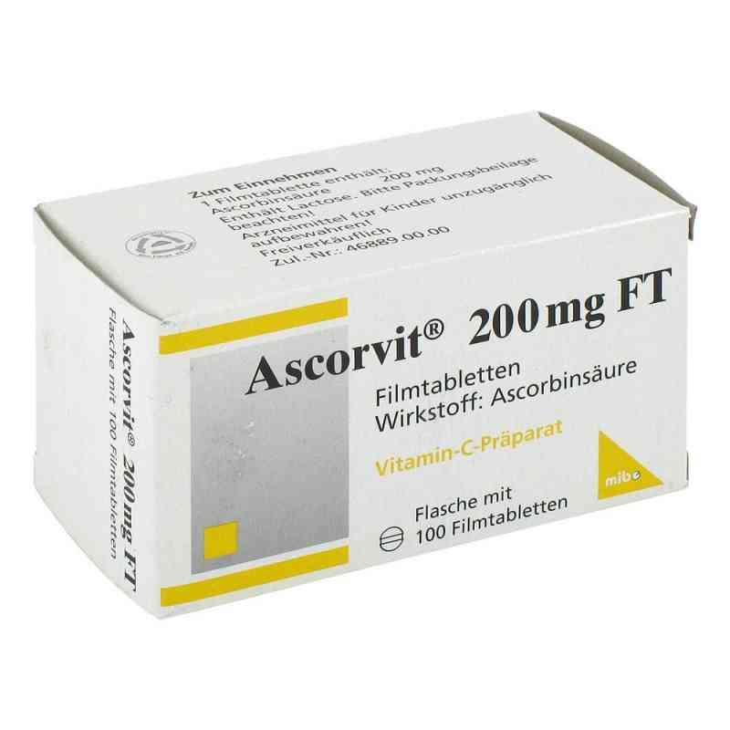 Ascorvit 200 mg Ft tabletki powlekane  zamów na apo-discounter.pl