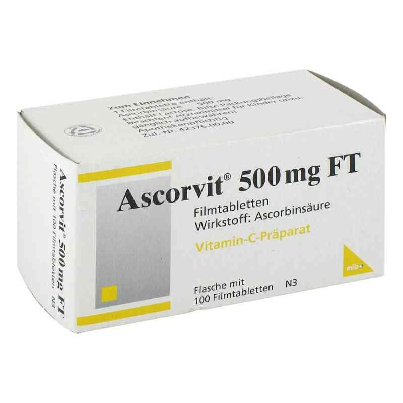 Ascorvit 500 mg Ft Filmtabl. zamów na apo-discounter.pl