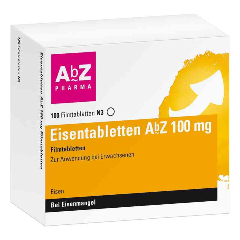 Eisentabletten Abz 100 mg Filmtabl. zamów na apo-discounter.pl