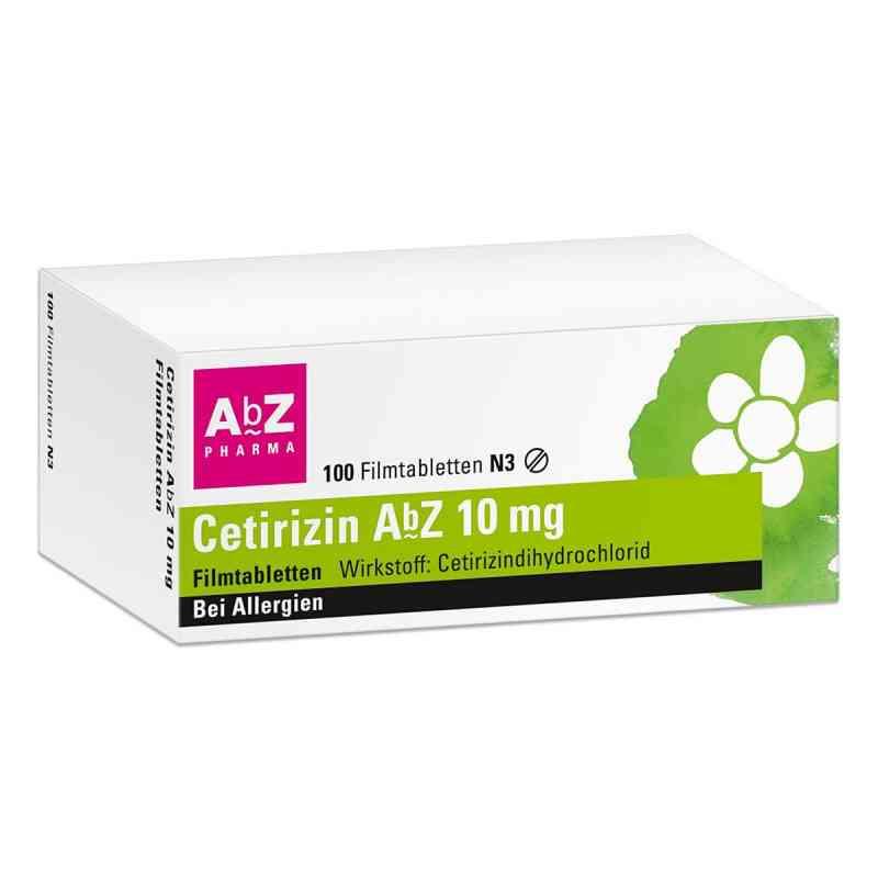 Cetirizin Abz 10 mg Filmtabl.  zamów na apo-discounter.pl