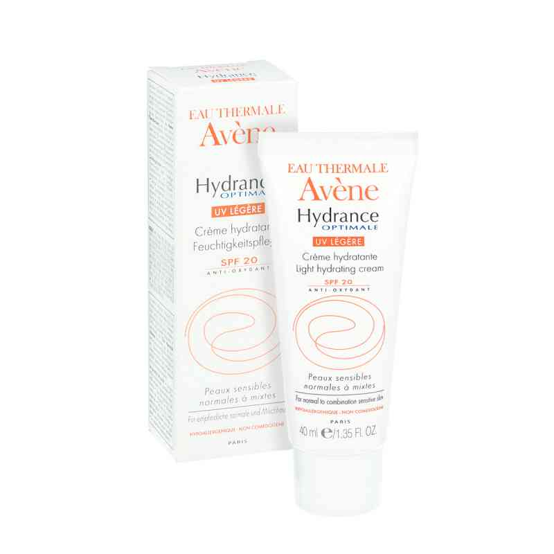 Avene Hydrance Optimale UV Legere - skóra normalna i mieszana  zamów na apo-discounter.pl