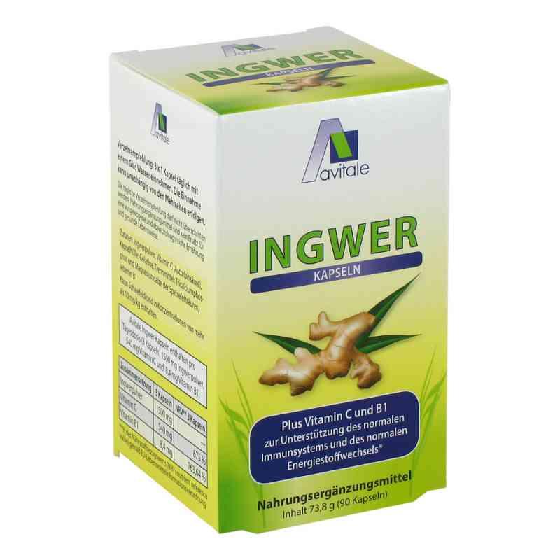Imbir 500 mg + witaminy C i B1, kapsułk  zamów na apo-discounter.pl
