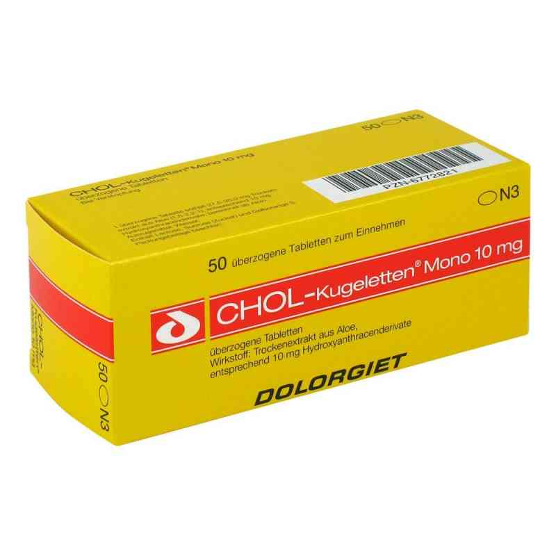 Chol Kugeletten Mono 10 mg Tabl.ueberzogen  zamów na apo-discounter.pl