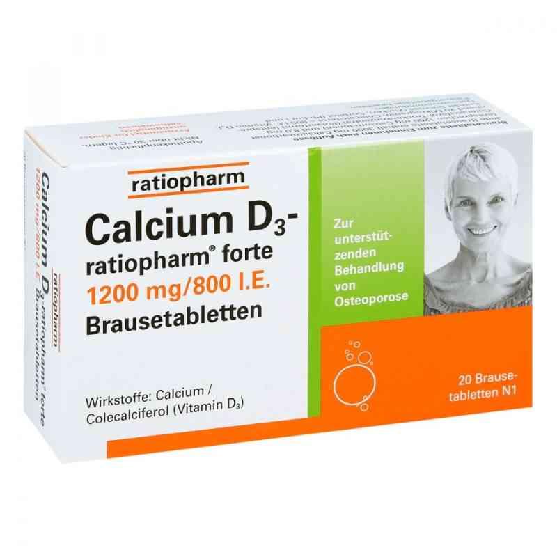 Calcium D3 ratiopharm forte Brausetabl. zamów na apo-discounter.pl
