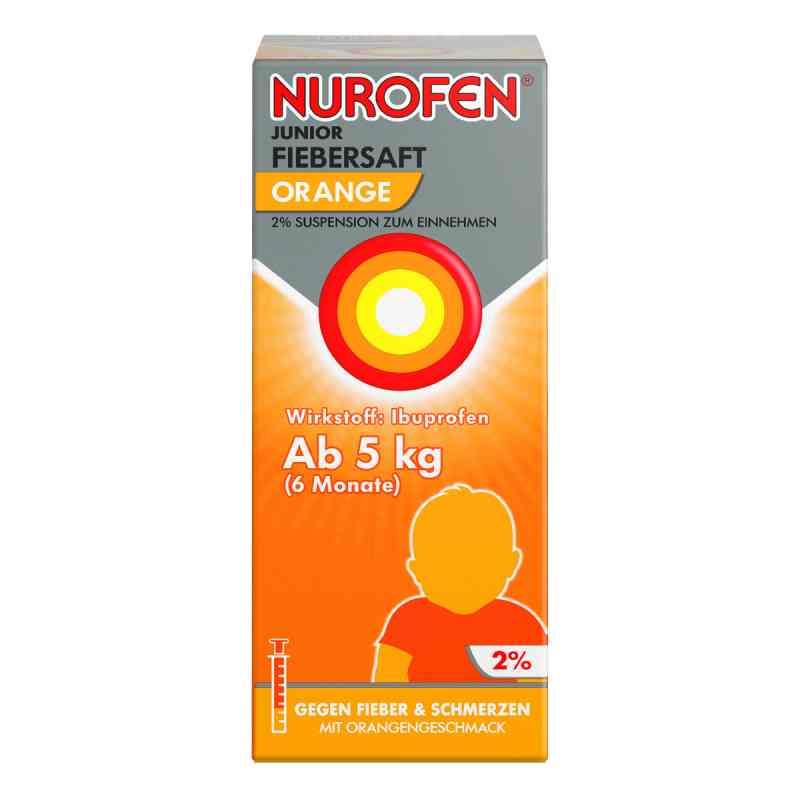 Nurofen Junior Fiebersaft Orange 2% zamów na apo-discounter.pl