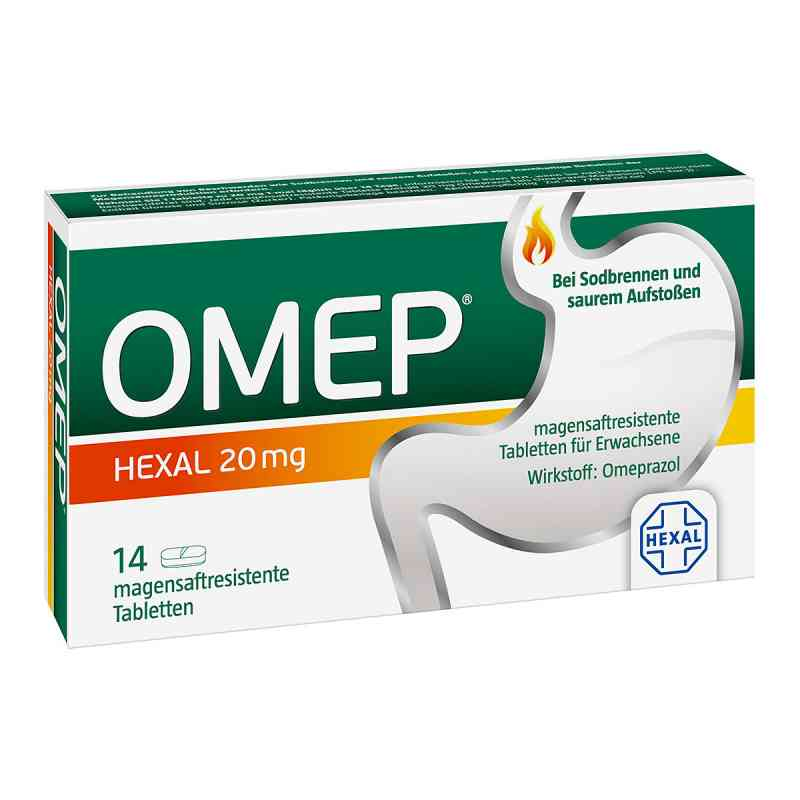 Omep Hexal 20 mg magensaftr.Tabl. zamów na apo-discounter.pl