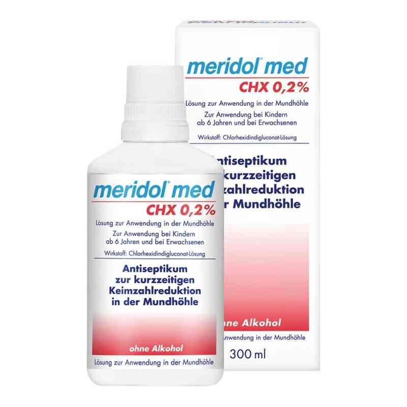 Meridol med Chx 0,2% płyn do płukania jamy ustnej  zamów na apo-discounter.pl
