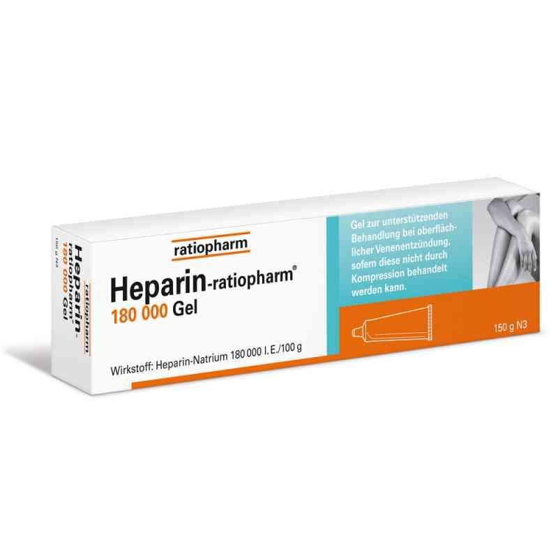 Heparin Ratiopharm 180 000 I.e.gel  zamów na apo-discounter.pl