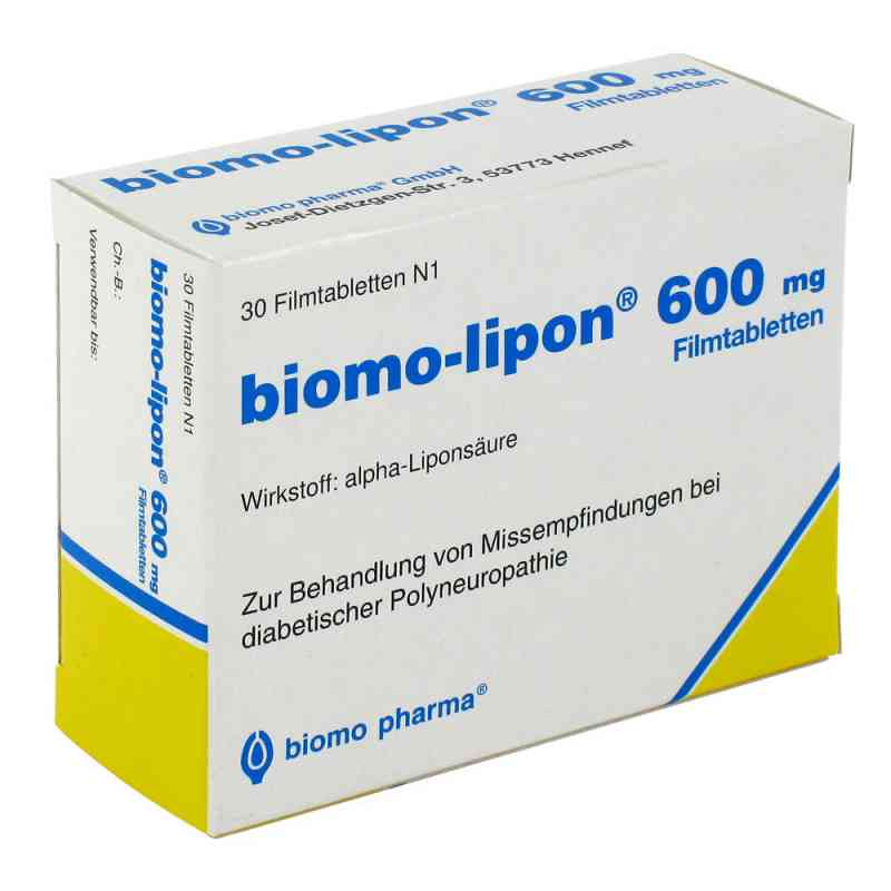 Biomo Lipon 600 Filmtabl.  zamów na apo-discounter.pl