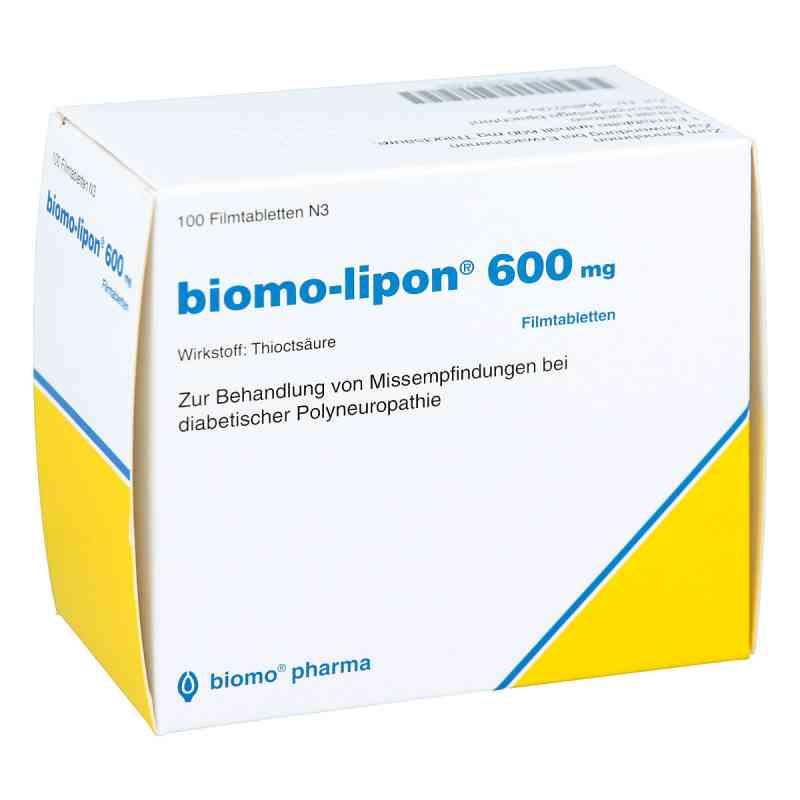 Biomo-Lipon 600 mg tabletki powlekane  zamów na apo-discounter.pl