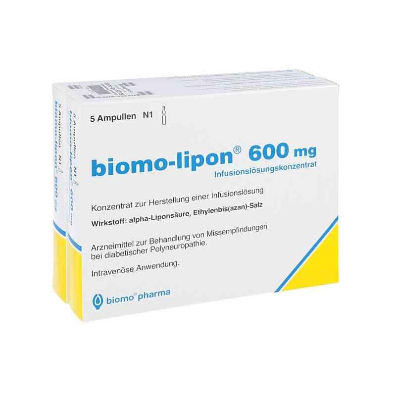 Biomo Lipon 600 mg Amp.  zamów na apo-discounter.pl
