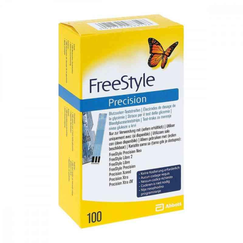 Freestyle Precision  Testy paskowe do mierzenia poziomu cukru we 100 szt. od Abbott GmbH PZN 06905357