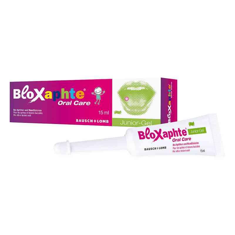 Bloxaphte Junior żel na zmiany w jamie ustnej dla dzieci  zamów na apo-discounter.pl
