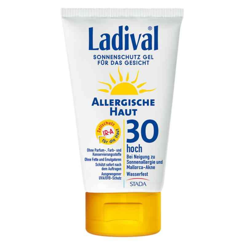 Ladival żel do twarzy do skóry alergicznej z filtrem SPF30 zamów na apo-discounter.pl