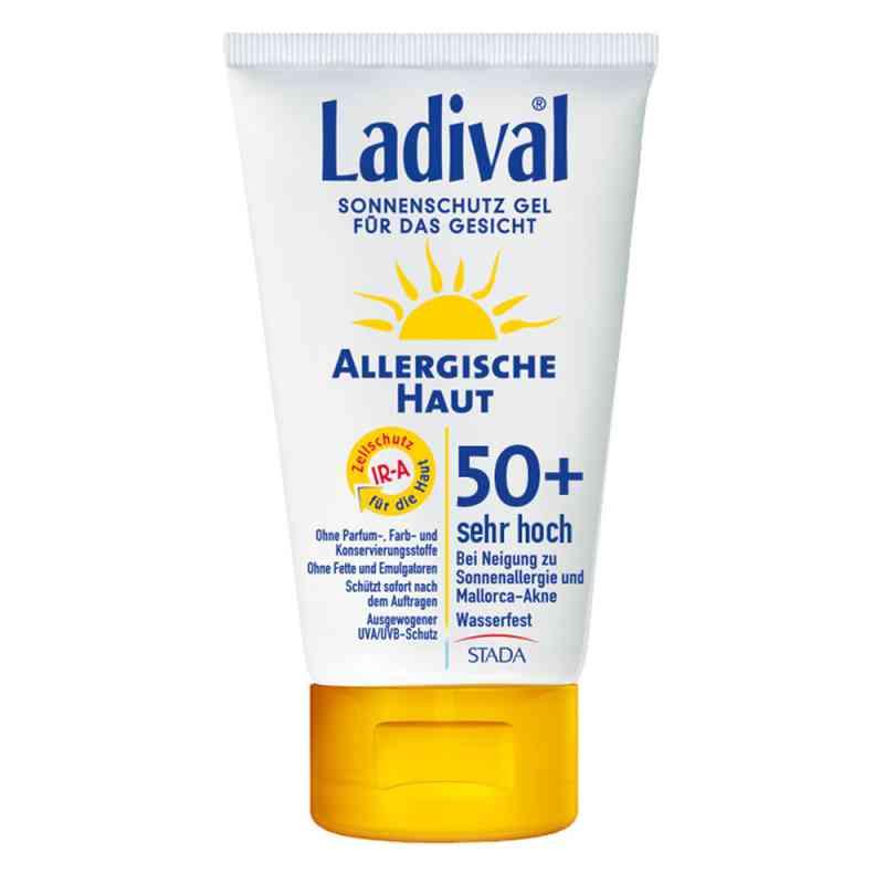 Ladival żel ochronny dla skóry alergicznej twarzy SPF50  zamów na apo-discounter.pl