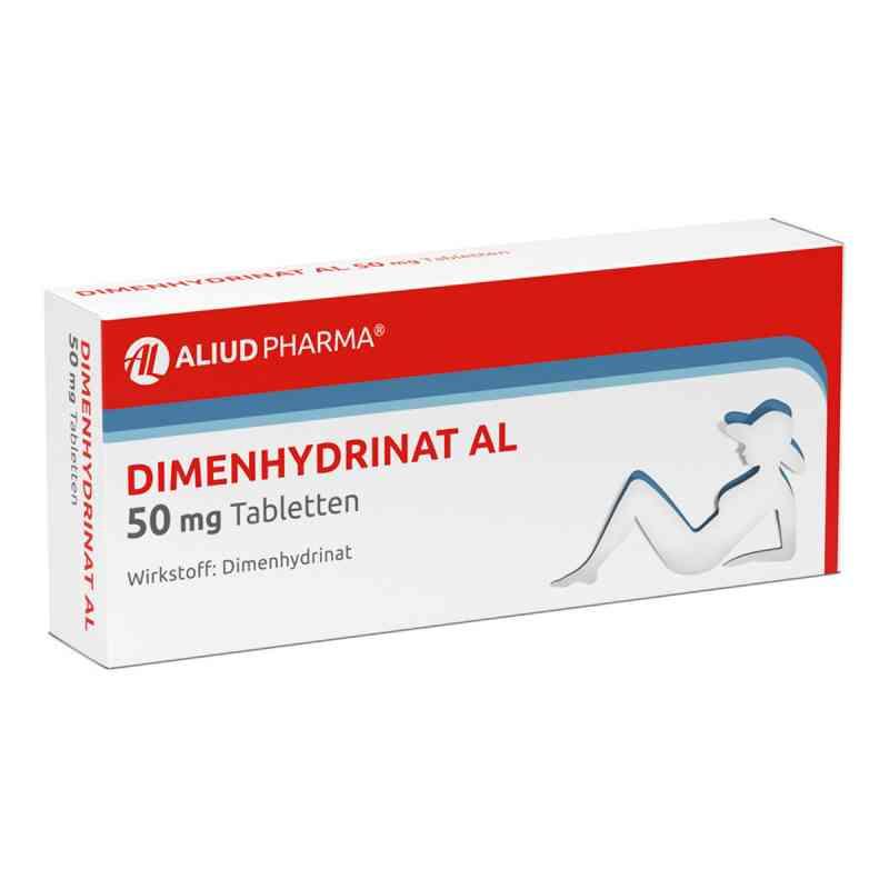 Dimenhydrinat Al 50 mg Tabl.  zamów na apo-discounter.pl